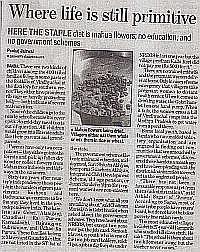 Primitive Life At Bundelkhand