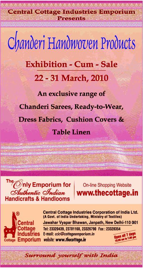 Chanderi Handwoven Products