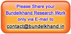 Share BUNDELKHAND Research Work