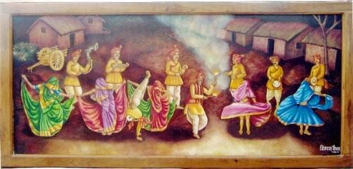 Bundelkhandi-Rai-Painting