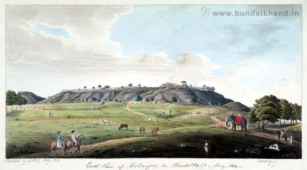 Kalinjar Fort Painting