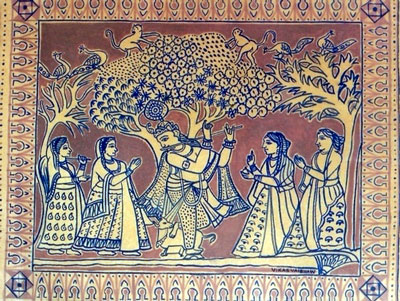 bundeli-miniature-paintinga-krishna-leela.jpg (400×301)