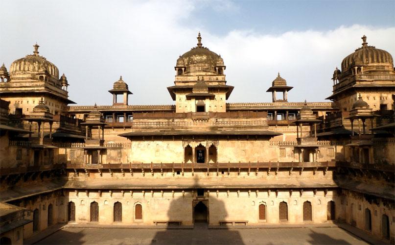 Jahangir Mahal, Orchha (जहांगीर महल, ओरछा ...