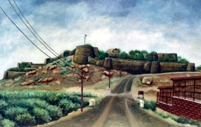 jhansi-fort-painting