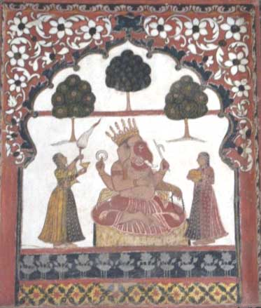 orchha-wall-painting3.jpg (373×439)